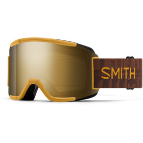 Smith Squad Snow Goggles, amber textile